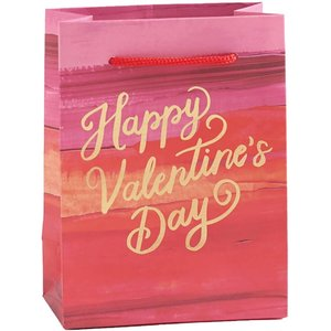 Paper Source Wholesale Painted Happy Valentines Day Small Bag
