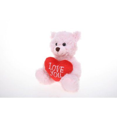 "Plushland 6"" Bear with Love you heart -"