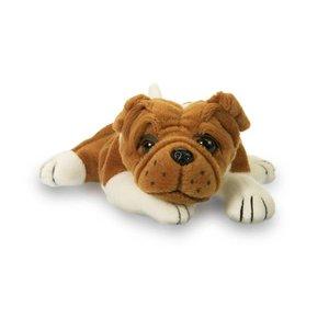 """Plushland Baby Bulldog - 8"""" Plush Stuffed Animal"""