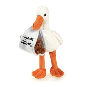 Plushland Special delivery stork