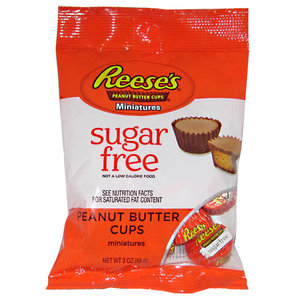 Redstone Foods Reeses Peanut Butter Cup Minis - SUGAR FREE (peg bag)