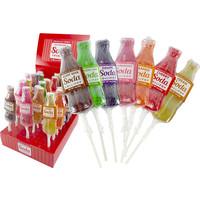 Redstone Foods MELVILLE SODA LOLLIPOPS ASSORTED