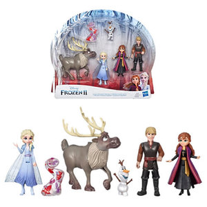 BBCW Frozen 2 Dolls - Small Dolls Adventure Collection 5-pack