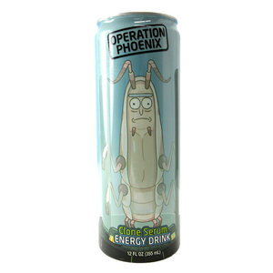 Redstone Foods RICK & MORTY OPERATION PHOENIX ENERGY DRINK CAN