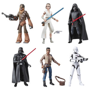"""BBCW Star Wars Figures - 5"""" Galaxy Of Adventures - Ep IX TROS - ONE CHARACTER"""