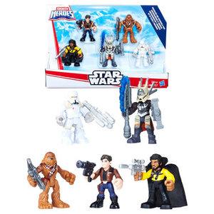 BBCW Playskool Galactic Heroes Figures - Star Wars - Smugglers And Scoundrels Pack