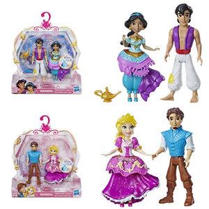 BBCW Disney Princess Dolls - Royal Clips Princess and Prince 2-pack