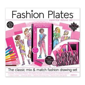 Kahootz Fashion Plates - Superstar Deluxe Kit