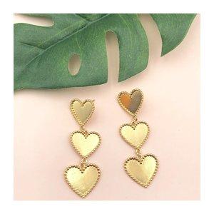 Treasure Jewels Triple Heart