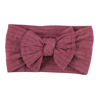 Mila Rose Cable Knit Nylon Headwrap