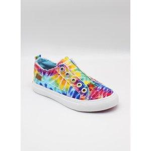 Blowfish Malibu Play-k - Rainbow Tie Dye Canvas Sneakers