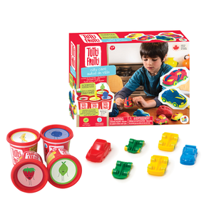 Family Games America Tutti Frutti City Cars kit - 4 tubs