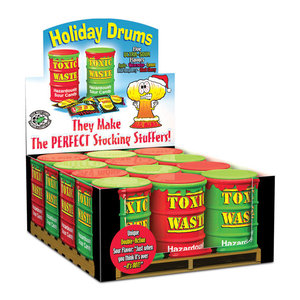 Redstone Foods Toxic Waste Holiday Drums