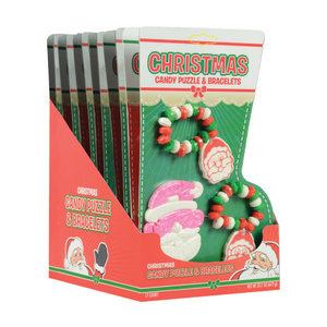 Redstone Foods Christmas Candy Puzzles and Bracelet