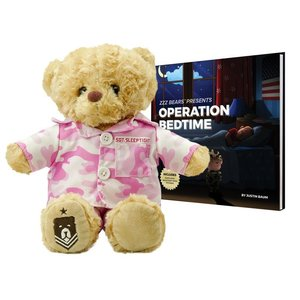 ZZZ Bears Sgt Sleeptight - Pink Camouflage