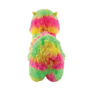 Fashion Angels Alpaca Plush - Large - Neon Yellow, Green & Pink