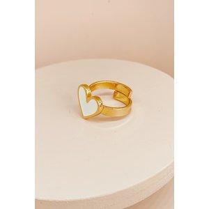 Brenda Grands Heart Ring Single -