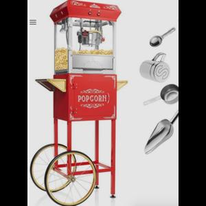Whimsical Alley Popcorn Machine Rental