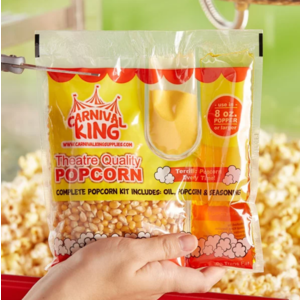 Whimsical Alley One Extra 10 oz Pack of Popcorn -  for the Popcorn Machine Rental