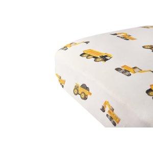 Newcastle Classics Yellow Digger Crib Sheet