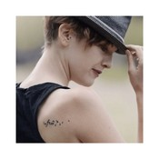 "Conscious Ink ""be free"" Manifestation Tattoo 2-Pack"