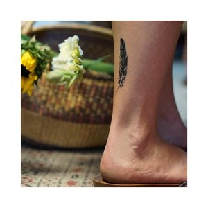 "Conscious Ink ""Feather"" Manifestation Tattoo 2-Pack"