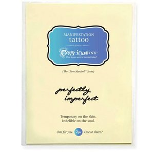 "Conscious Ink ""perfectly imperfect"" Manifestation Tattoo 2-Pack"