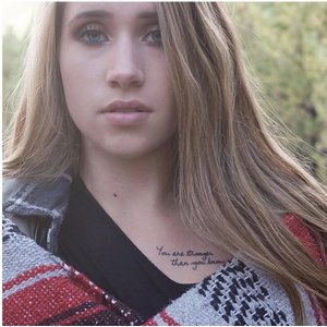 "Conscious Ink ""You are stronger than you know"" Manifestation Tattoo 2-Pack"