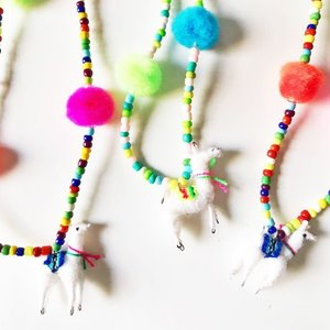 The Trendy Tot Llama Necklace