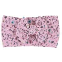Mila Rose Nylon Bow Headwrap
