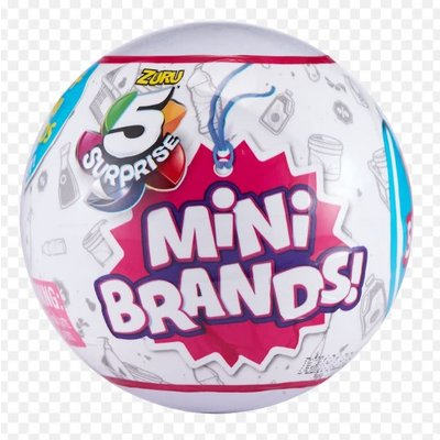 Zoofy 5 Surprise Collectibles Mini Brands Series 1