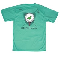 Properly Tied LD Tee Time SS Soft Green