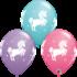 Balloons.com Whimsical Unicorns (11 Inch latex balloon)