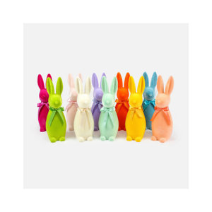 One Hundred 80 Degrees Flocked Button Nose Bunny