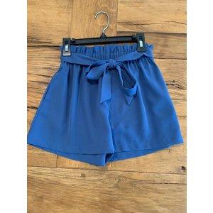 Penelope Tree Tori Shorts in Slate Blue -