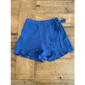 Penelope Tree Dakota Skort in Slate Blue -