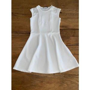 Penelope Tree Lavender Dress White