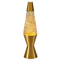 "Schylling 14.5"" Rainbow Glitter Lava Lamp (Gold) (2131)"