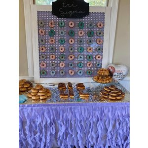 Whimsical Alley Item Rental - Donut Wall