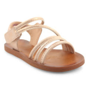 Blowfish Malibu Dyoo-t - Rosegold Meteorite Metallic Sandals