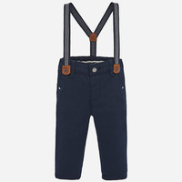 Mayoral Long trousers with suspenders Monaco