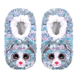 Ty Whimsy Reversible Sequin Slippers