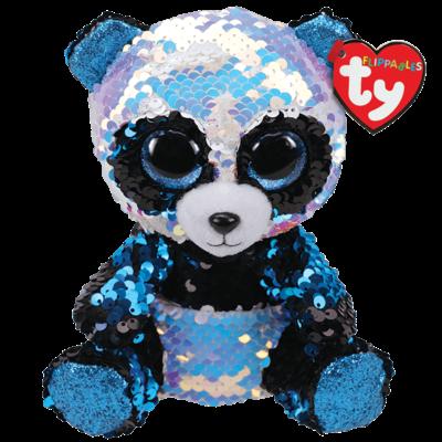 Ty Bamboo Panda Sequin (Regular-small) Plush Stuffed Animl