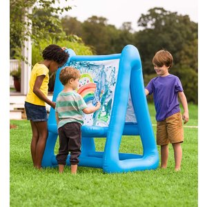 HearthSong Double Sided Inflatable Easel