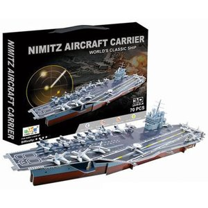 Top Race 3D Nimitz Aircraft Carrier Puzzle