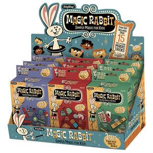 Schylling Magic Rabbit - 15 Simple Magic Tricks for Kids