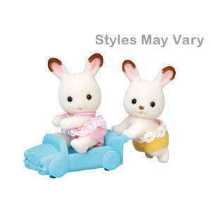 Calico Critters Hopscotch Rabbit Twins Calico Critters