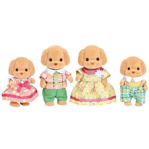 Calico Critters Toy Poodle Family Calico Critters