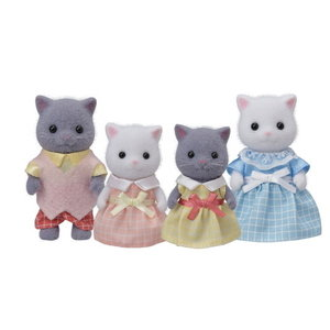 Calico Critters Persian Cat Family Calico Critters