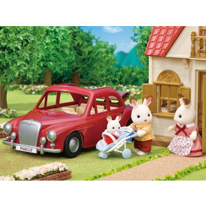 Calico Critters Family crusing car Calico Critters
